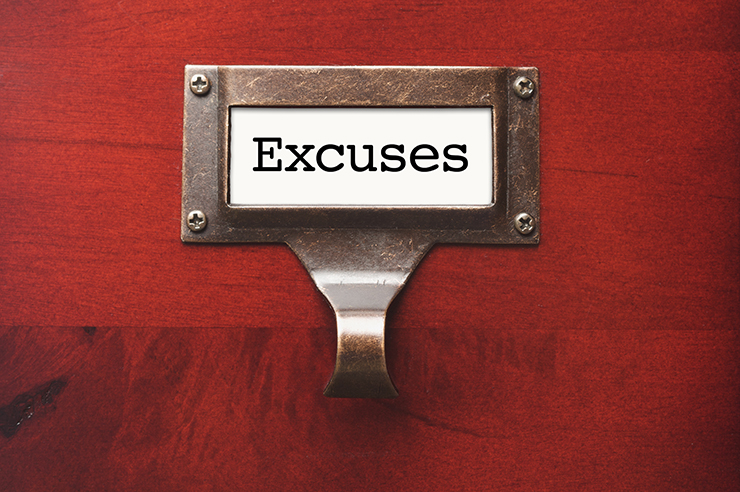 Five Excuses People Use for Not Leading