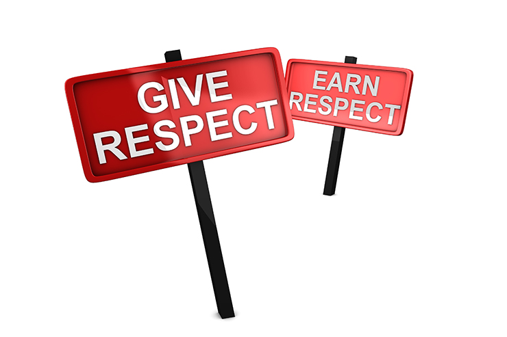 Giving and Gaining Respect